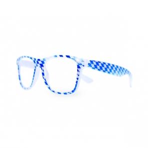 Bavarian Nerdy Brille Klarsicht Blau