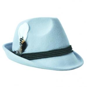 Trachtenhut Tiroler Style hellblau