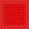 Niki-Halstuch Icons Rot