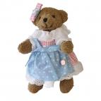 Bayerische Teddy Madl rosa Dirndl 22cm