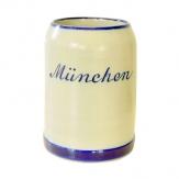 Bierkrug München salzglasiert 0,5 L