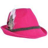 Trachtenhut Tiroler Style pink
