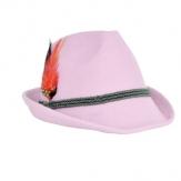 Trachtenhut Tiroler Style rosa