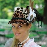 Leoparden Hut