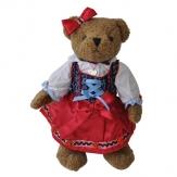 Bayerischer Teddy-Bär Sophia Tracht Dirndl, 30 cm