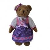 Bayerischer Teddy-Bär Resi Tracht Dirndl, 30 cm