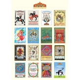 Hippodrom Poster mit Jahresmotiven