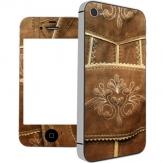 Lederhosen Schutzfolie iPhone 4/ 4S